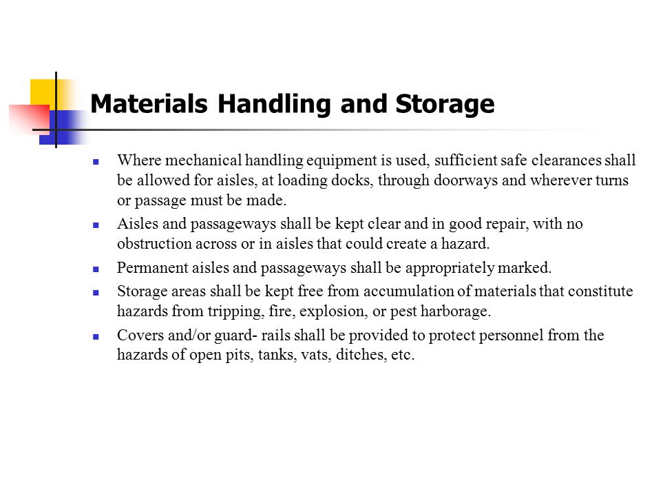 Safety first title ppt download 20 materials handling and storage publicscrutiny Gallery