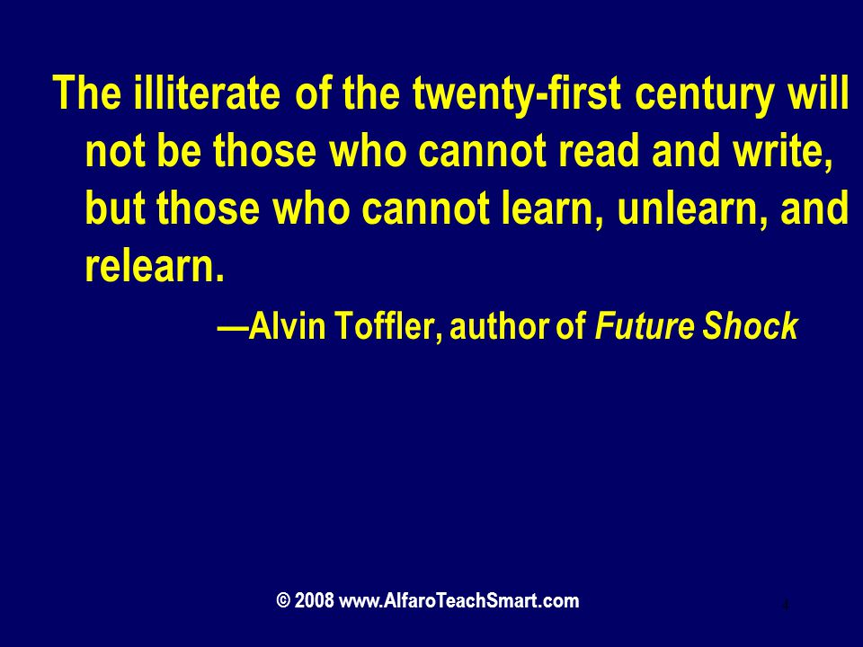 future shock essay questions Alvin toffler first presented the concept of personal stability zones in his 1971 book, future shock although the theory was never accepted academically, it's still interesting and relevant to what many of us face today.