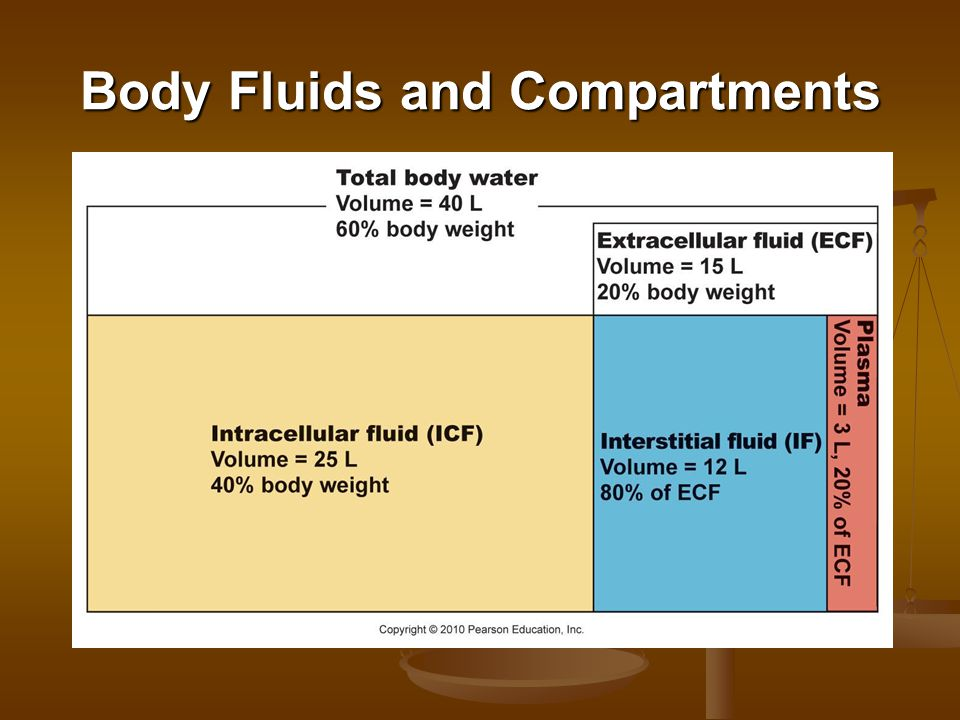 Body Fluids and Compartments