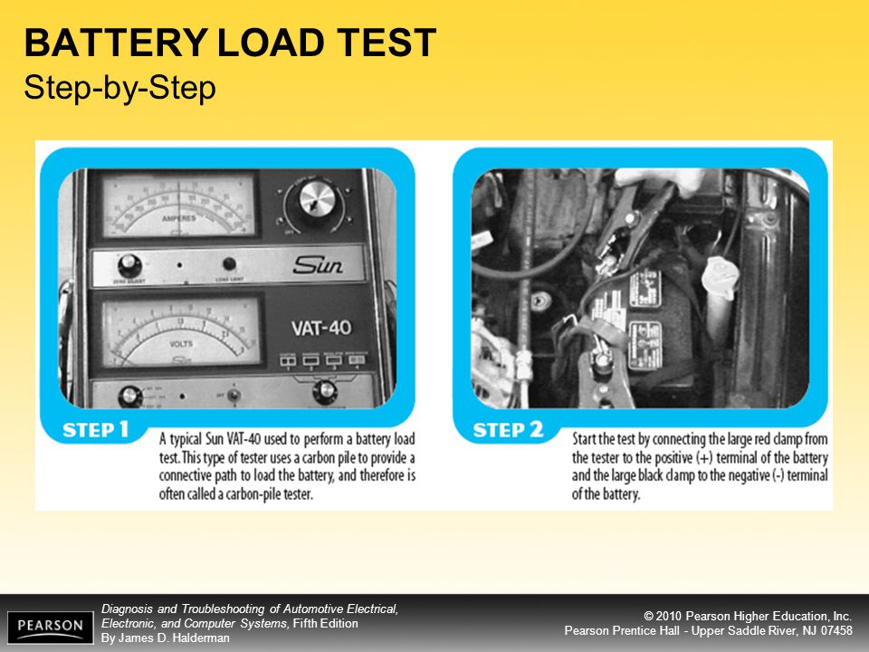 BATTERY LOAD TEST Step-by-Step