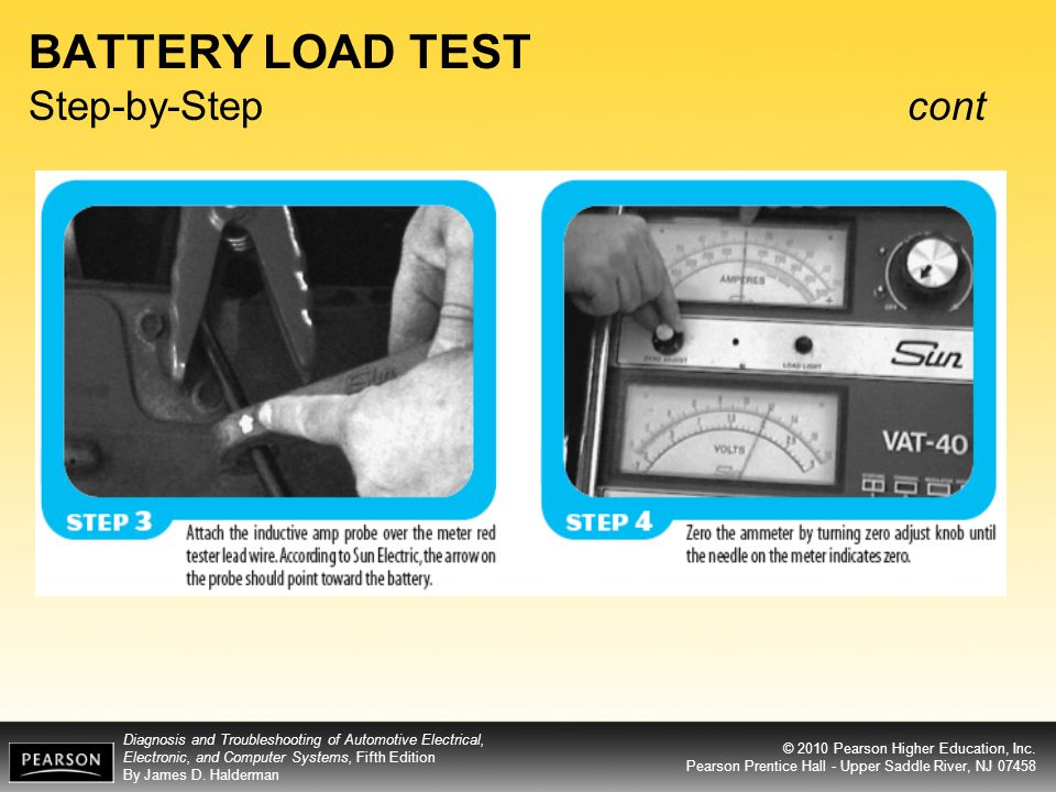BATTERY LOAD TEST Step-by-Step cont