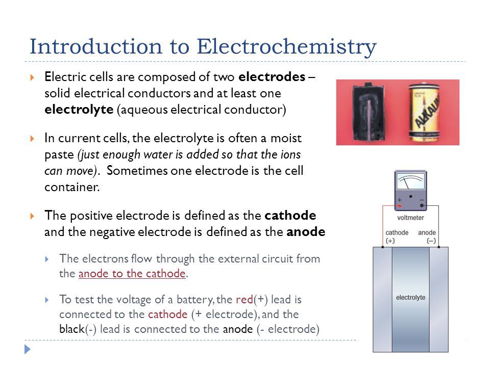 Electrochemical Cells - ppt video online download