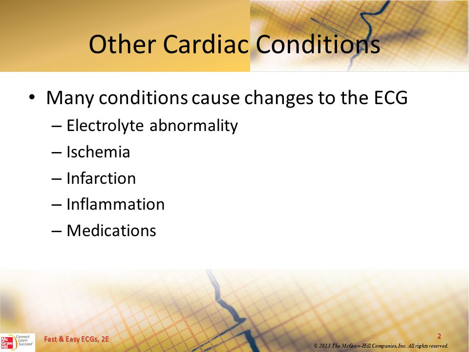 Other Cardiac Conditions