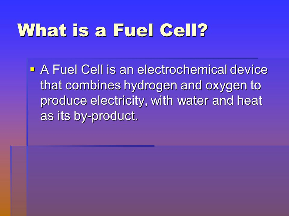 What Is A Fuel Cell >> Study Of Fuel Cell By Sunit Kumar Gupta Ppt Video Online Download