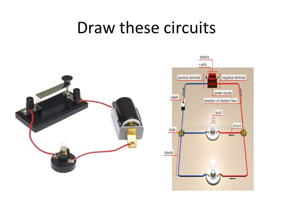 Draw these circuits
