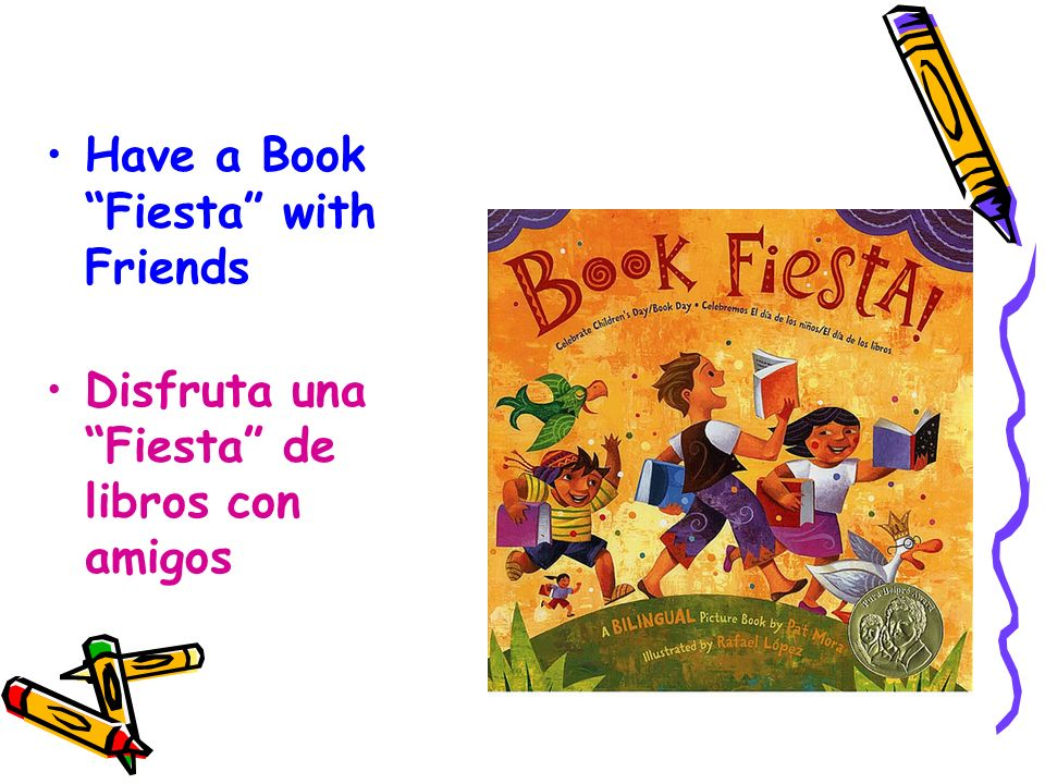 Have a Book Fiesta with Friends