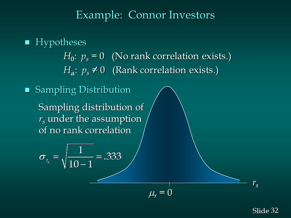 Example: Connor Investors
