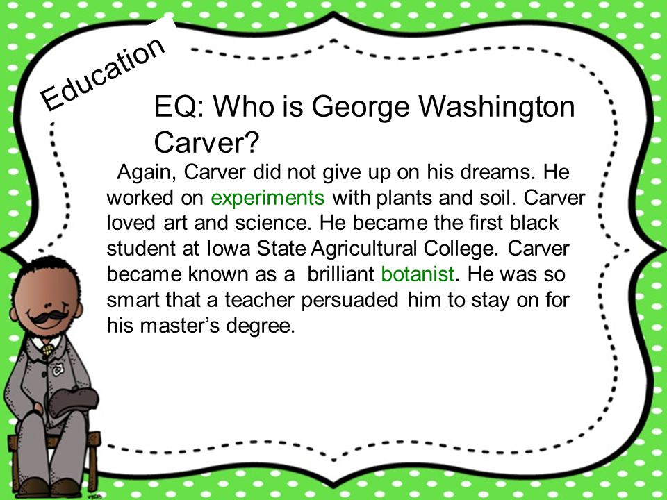 all about george washington carver ppt download