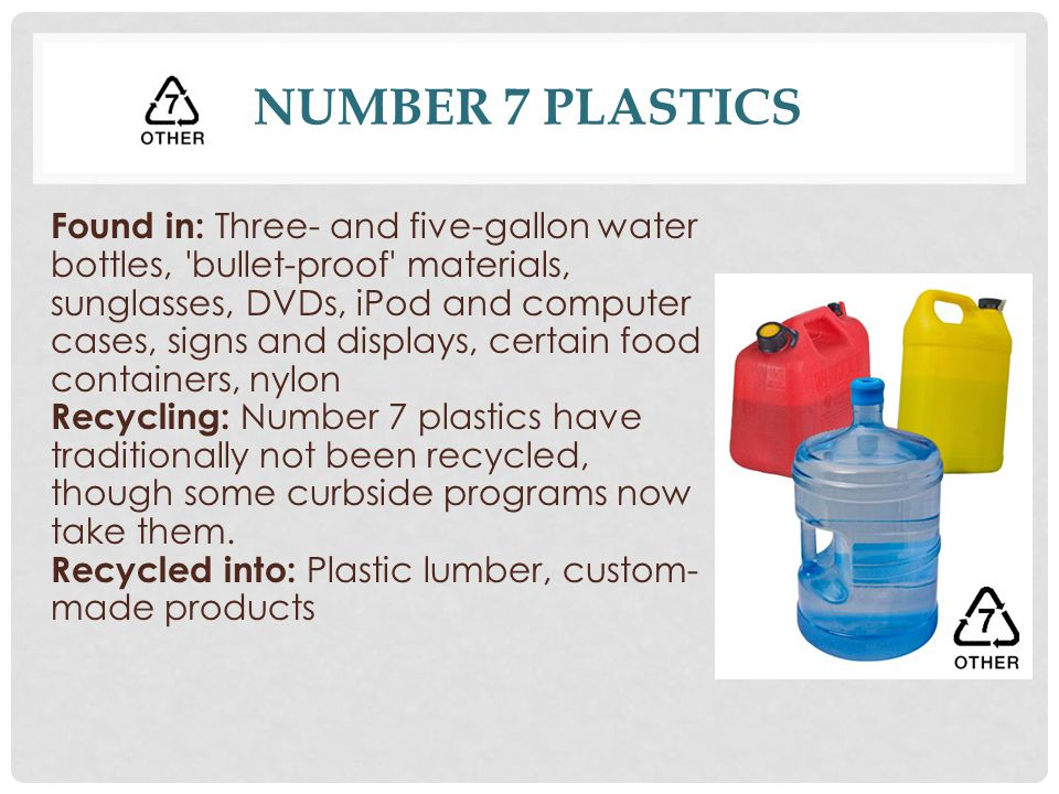 What Do Recycling Symbols on Plastics Mean? - ppt download