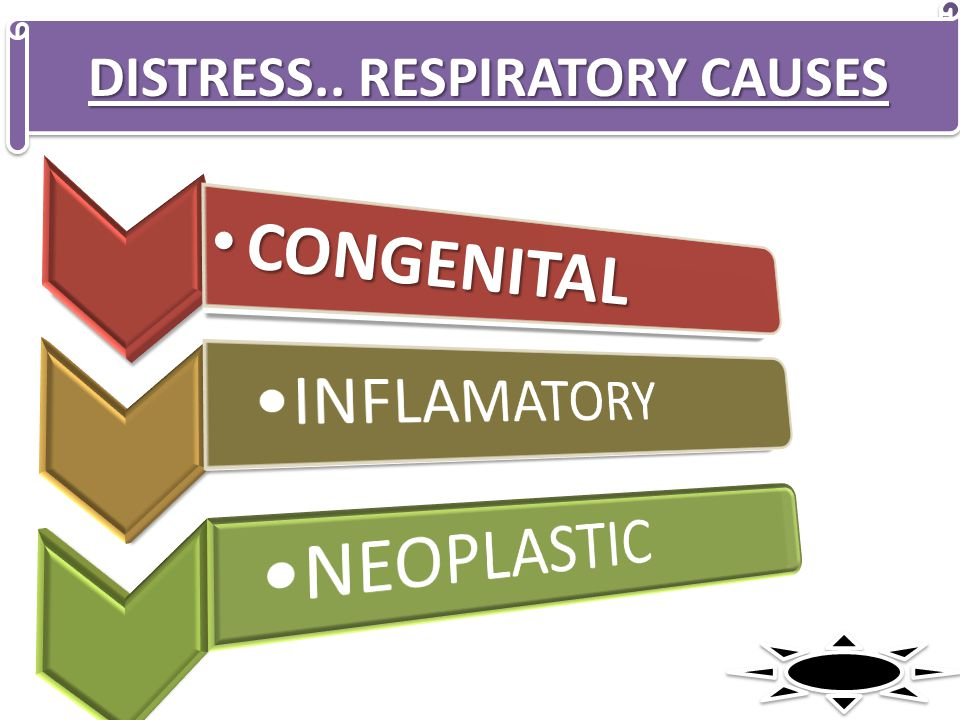 DISTRESS.. RESPIRATORY CAUSES