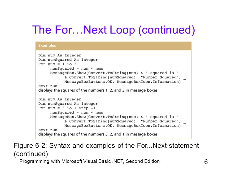 Vba: for-next loop examples youtube.