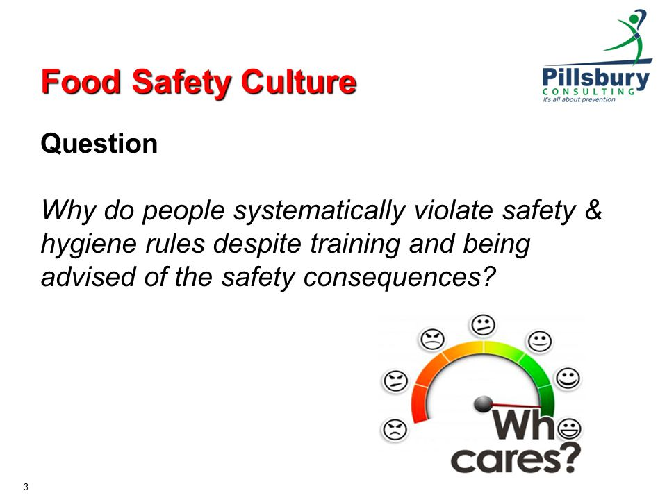 Food Safety Culture and Effective Food Control Systems - ppt download