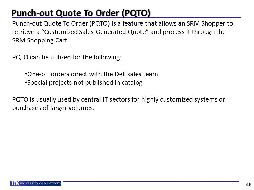 How To Use This Punchout Training Guide Ppt Download Interesting Dell Quote To Order