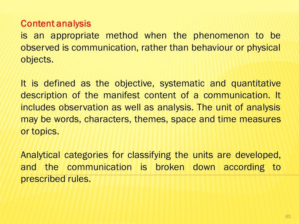 communication phenomenon topics