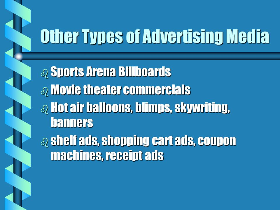 Other Types of Advertising Media