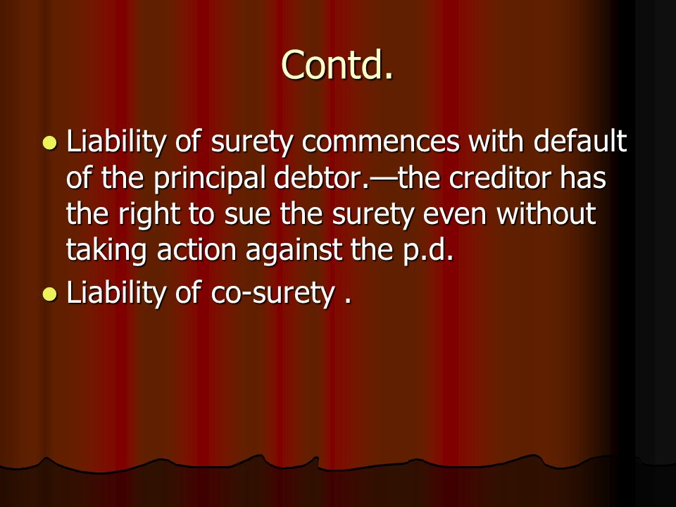 Contracts Of Indemnity Guarantee Ppt Video Online Download