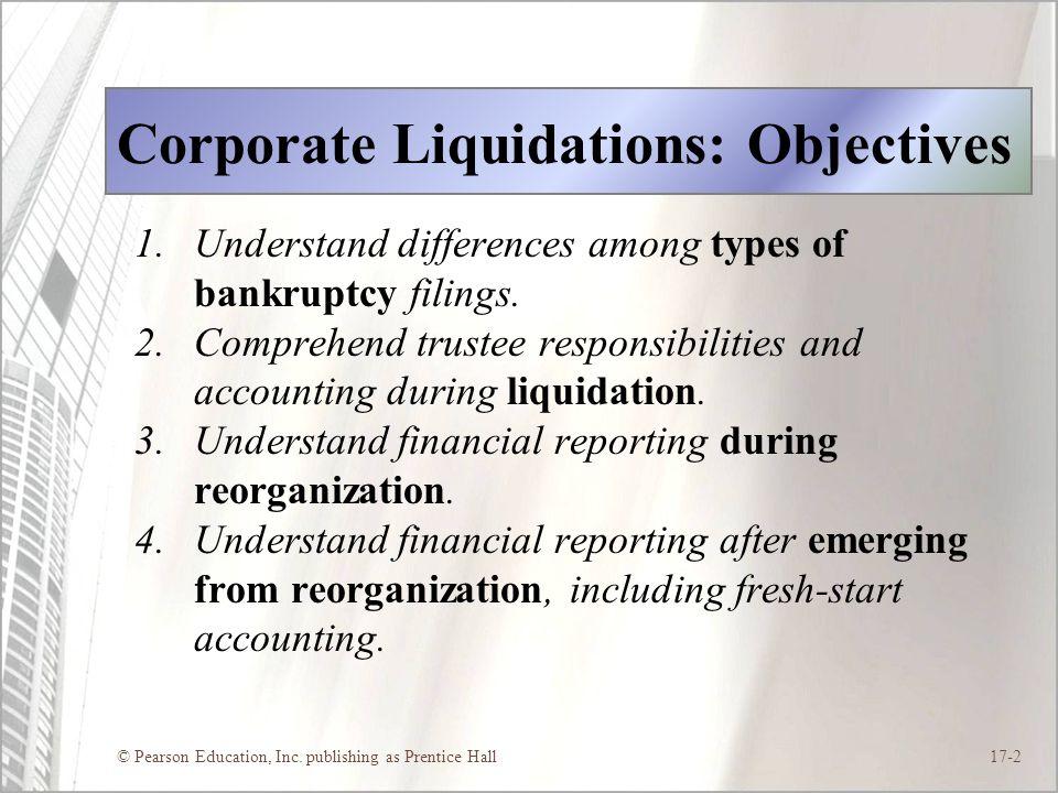 liquidating trustee responsibilities