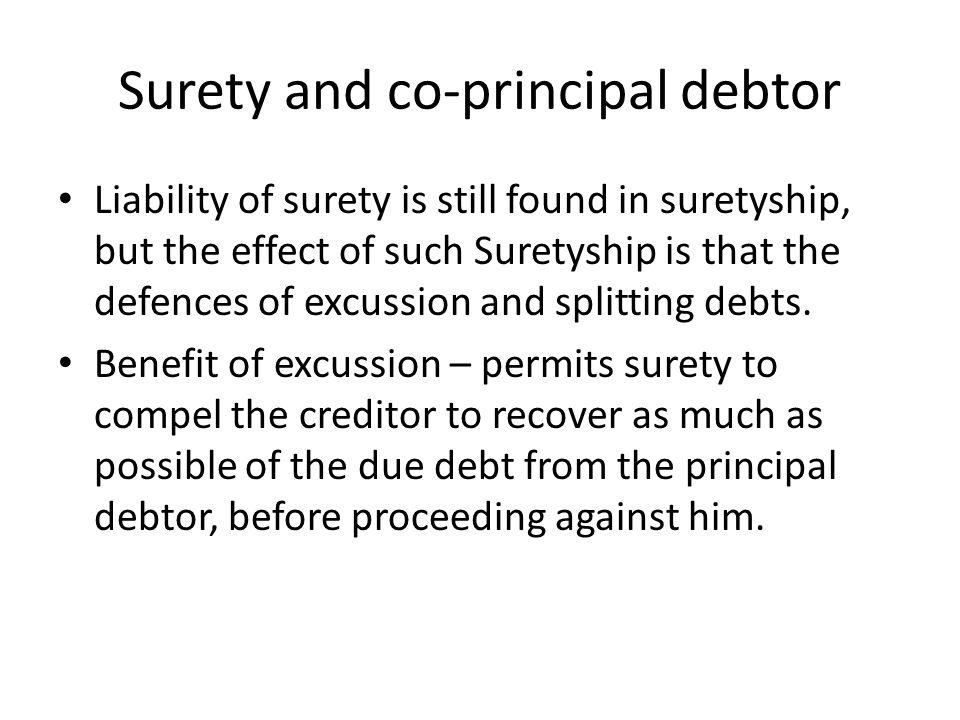 principal debtor