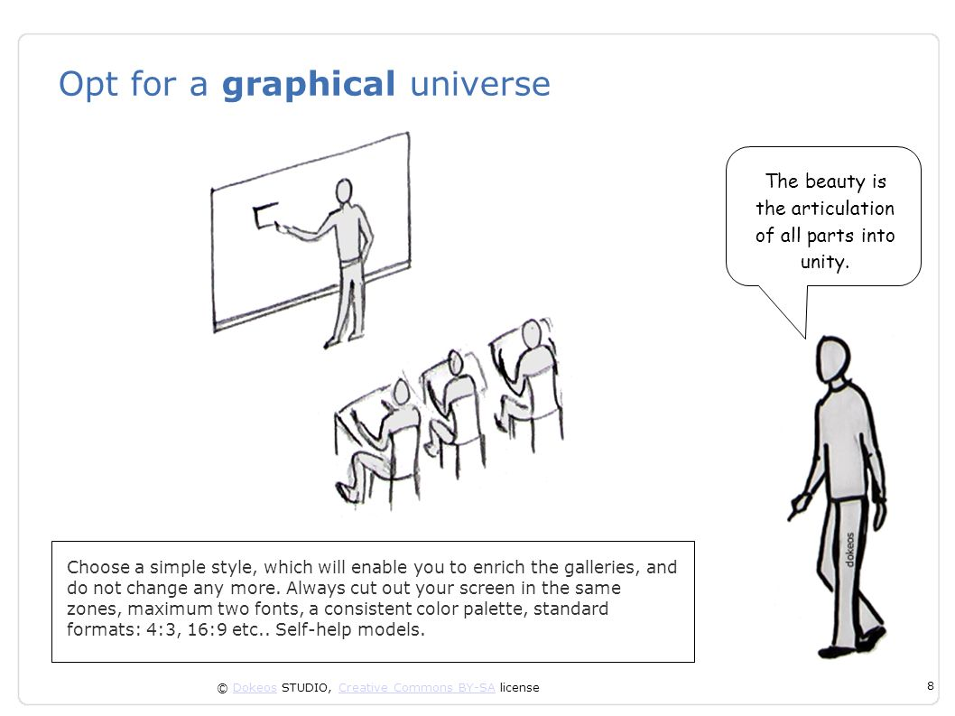 Opt for a graphical universe