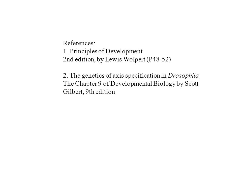 principles of development wolpert pdf
