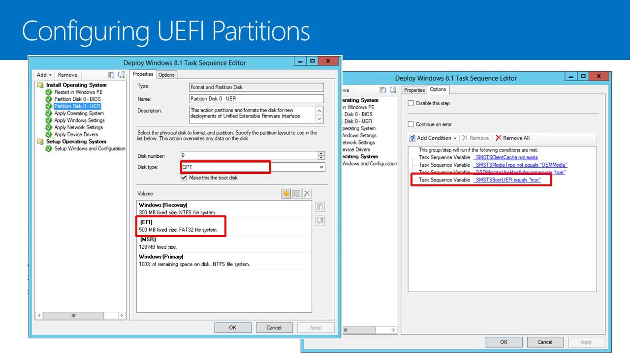 Deploying Windows 8 1 with System Center 2012 R2 Configuration