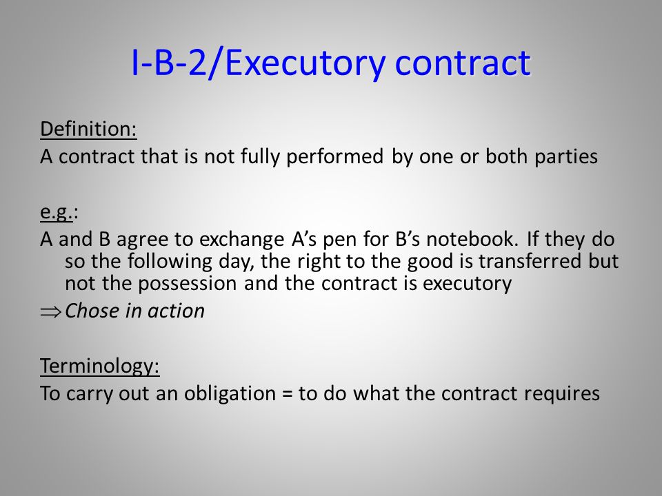 Introduction To The Terminology Of Contracts Part 3 Ppt Download