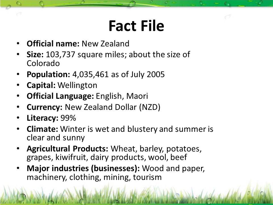 NEW ZEALAND New Zealand  - ppt video online download