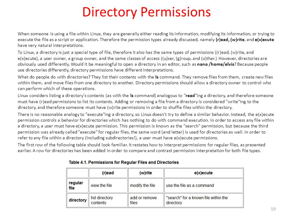 Workbook 4 File Ownerships and Permissions - ppt video