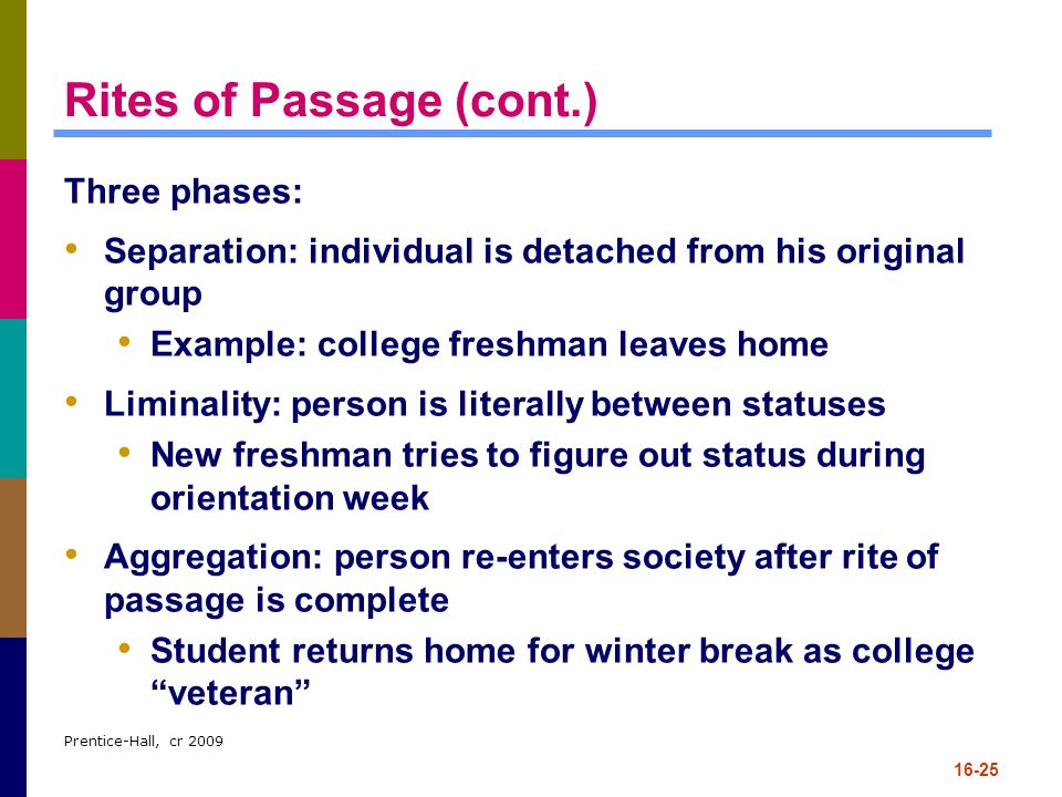 3 phases of rites of passage