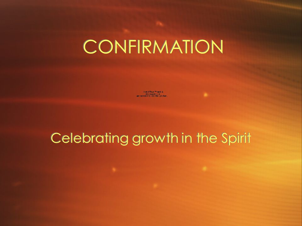 Celebrating growth in the Spirit