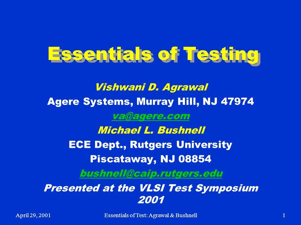 essentials of testing vishwani d agrawal ppt download rh slideplayer com