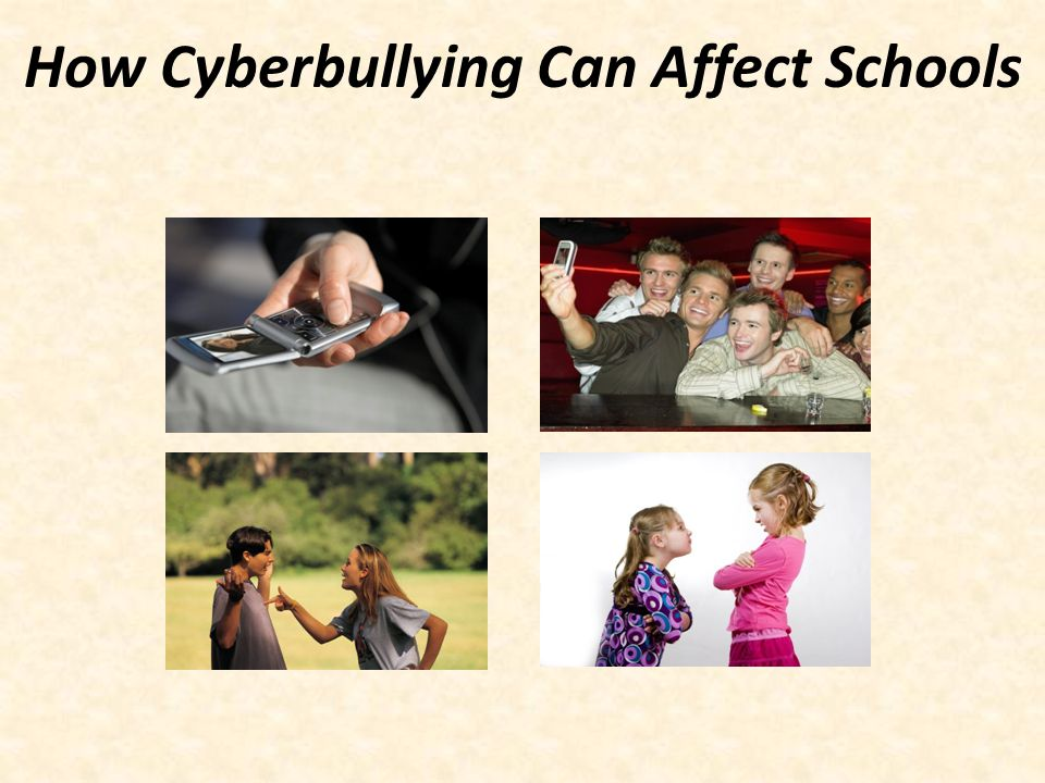 How Cyberbullying Can Affect Schools