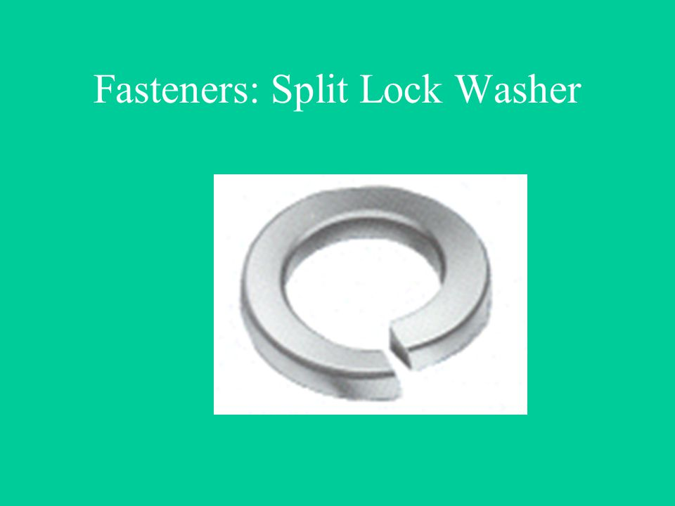 Fasteners: Split Lock Washer