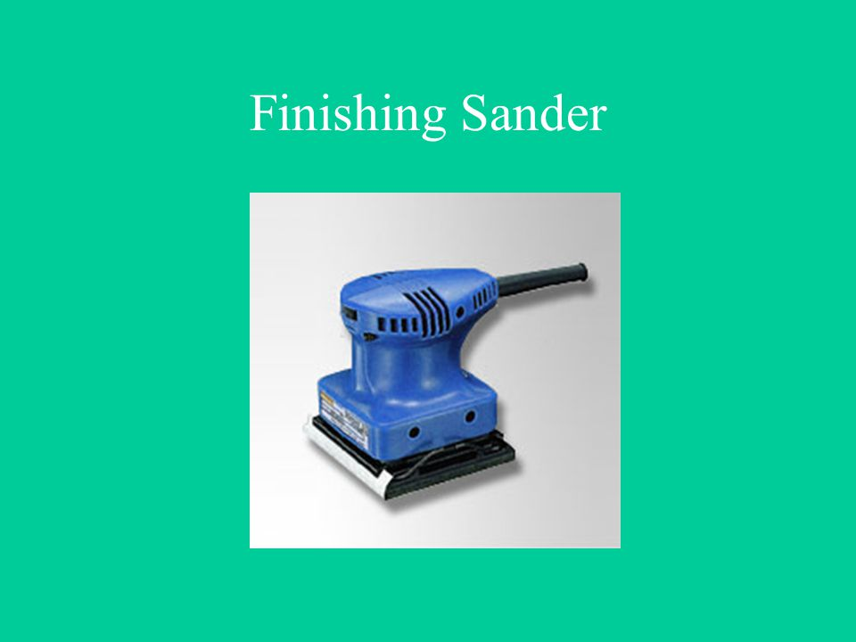 Finishing Sander