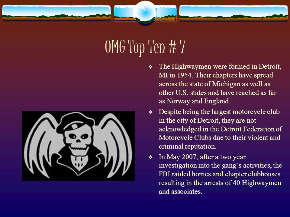 Outlaw Motorcycle Gangs - ppt video online download