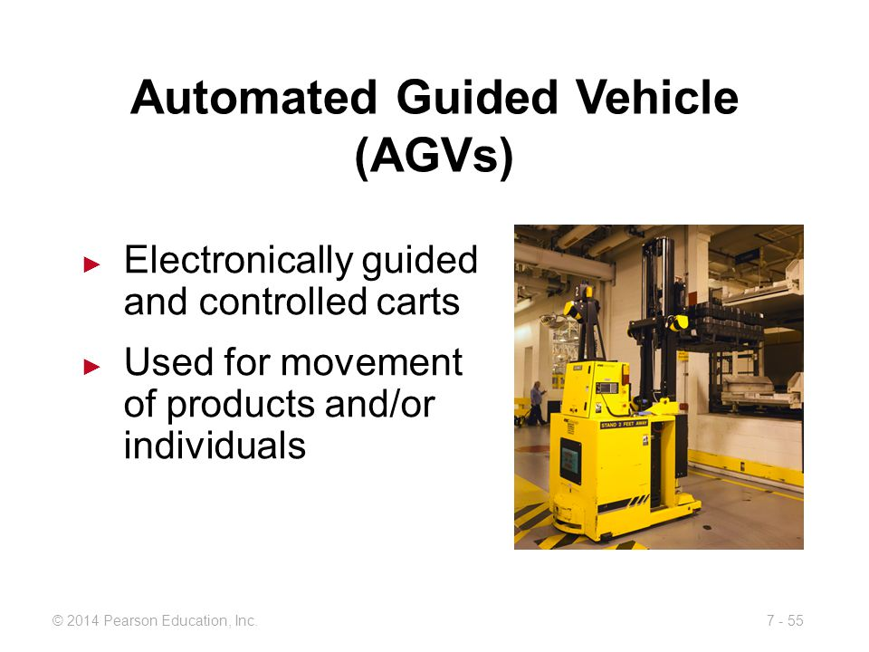 Automated Guided Vehicle (AGVs)