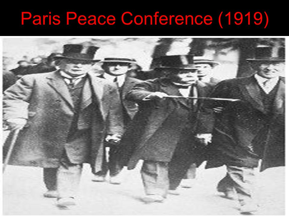 Paris Peace Conference (1919)
