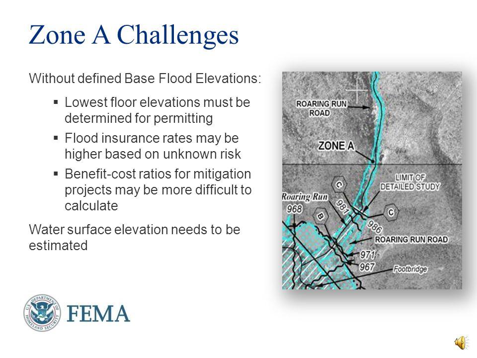 Managing Zone A Floodplains - ppt video online download