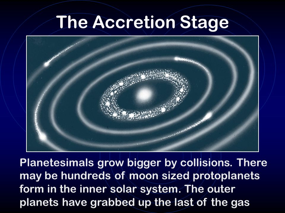 The Accretion Stage