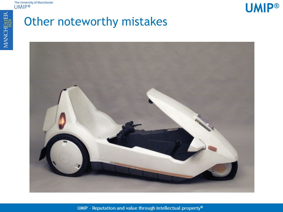 Other noteworthy mistakes