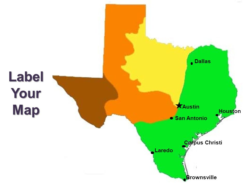 4 Natural Regions of Texas - ppt video online download on
