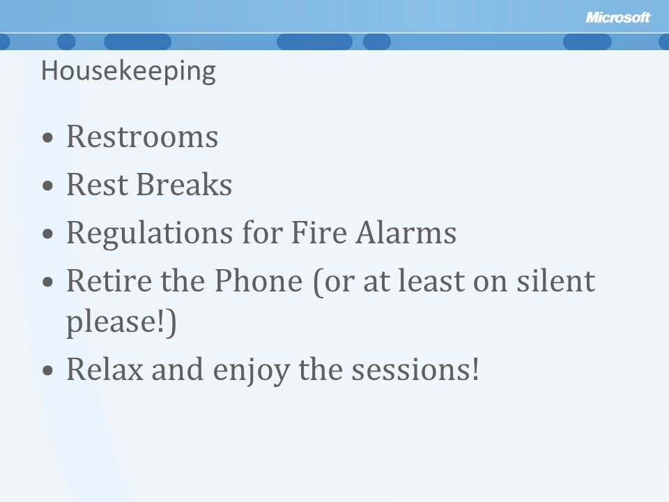 Regulations for Fire Alarms