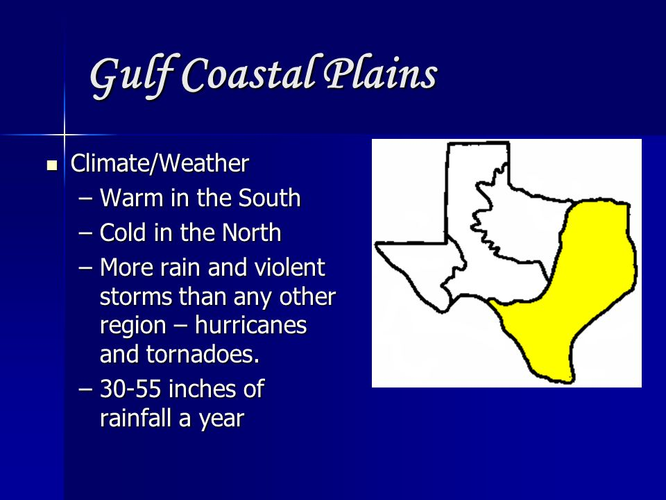 Gulf Coastal Plains Natural Resources