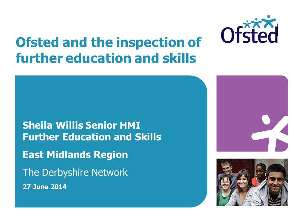 Ofsted and the inspection of further education and skills