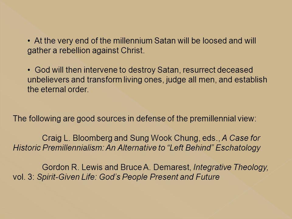 A Brief Survey Of Biblical Eschatology Ppt Download