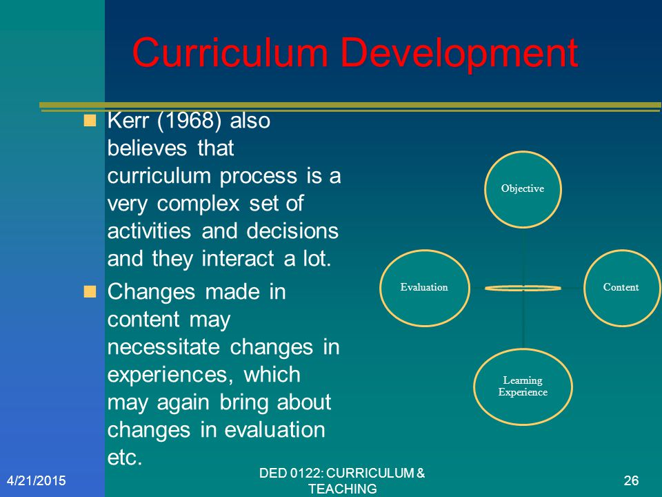 wheeler model of curriculum design