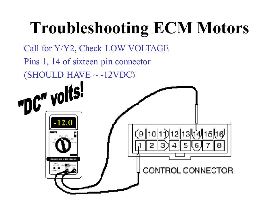 Ecm Motor Troubleshooting Guide
