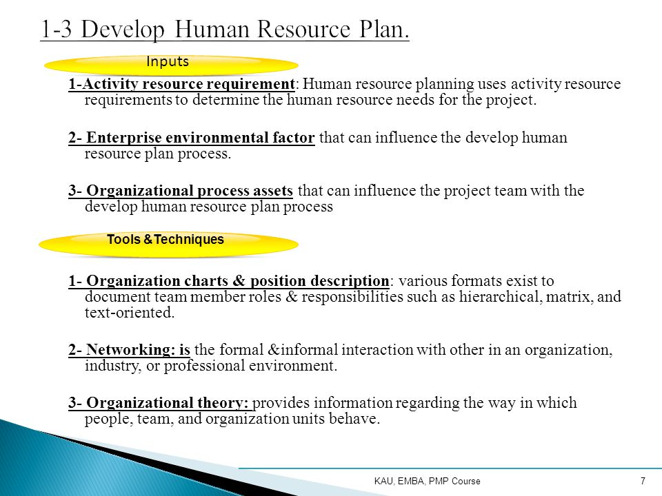 factors influencing human resource planning