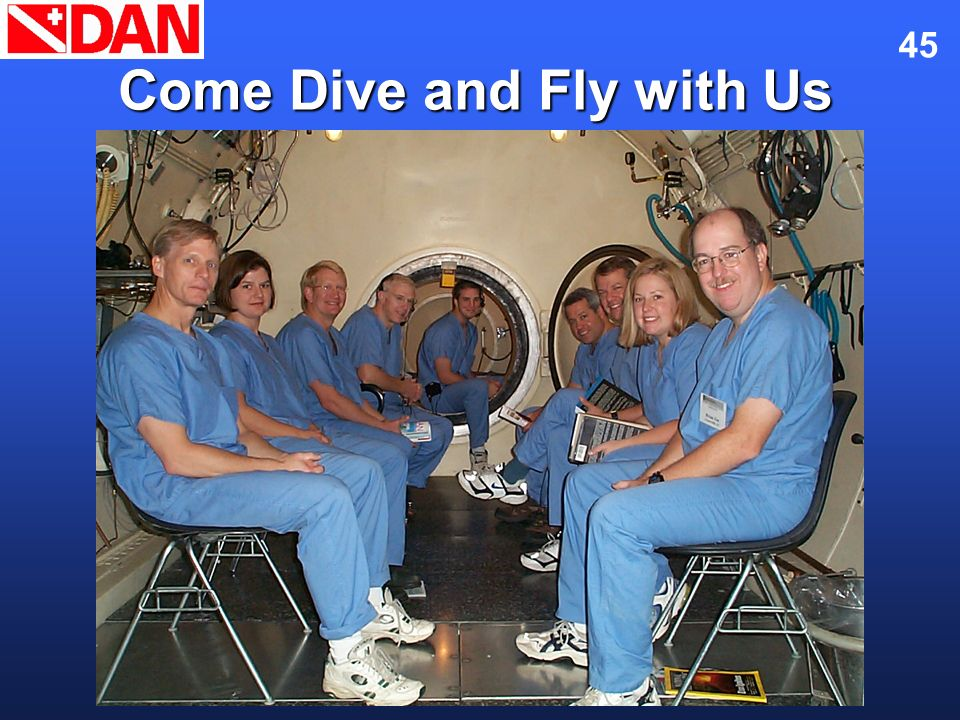 Come Dive and Fly with Us