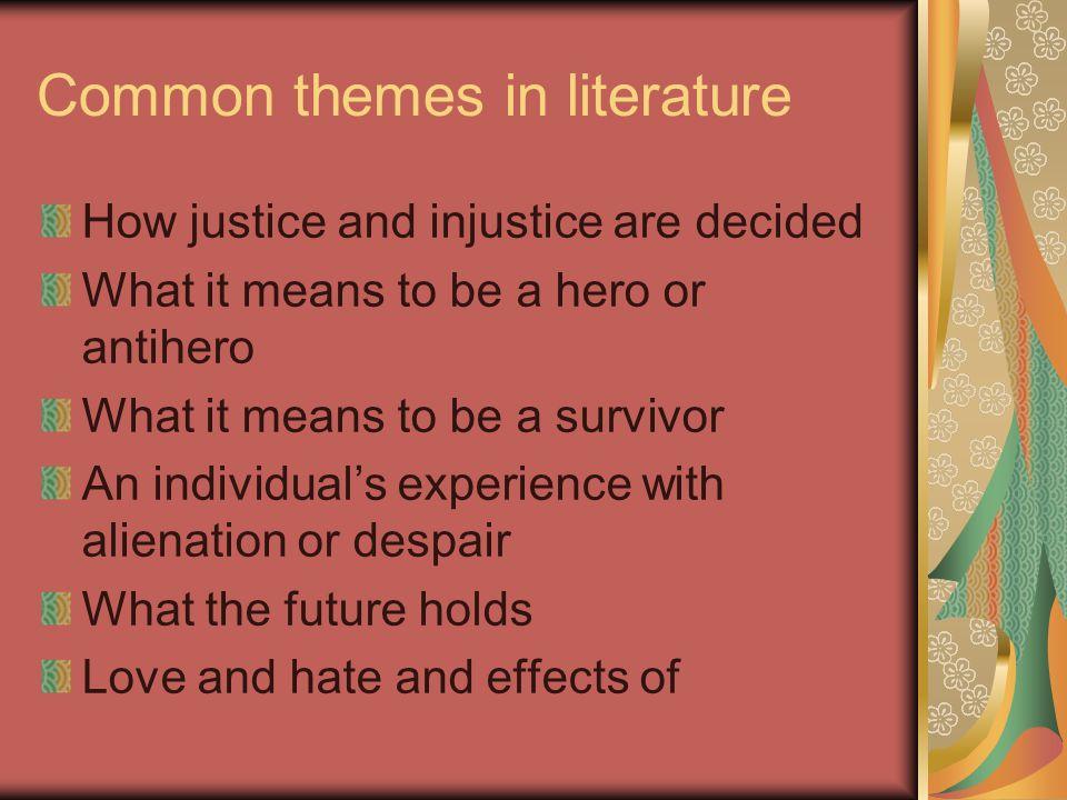 definition of alienation in literature